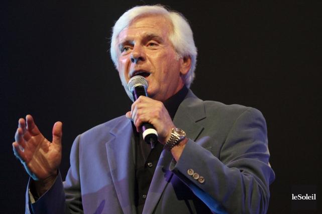 Le chanteur Pierre Lalonde... (Photothèque Le Soleil)
