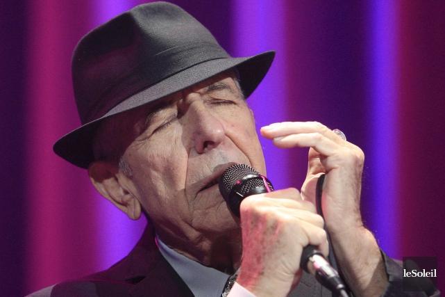 Leonard Cohen à Québec en 2012... (Photothèque Le Soleil, Pascal Ratthé)