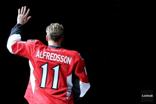 Ce sera la soirée Daniel Alfredsson, jeudi, au... (Archives, Le Droit)