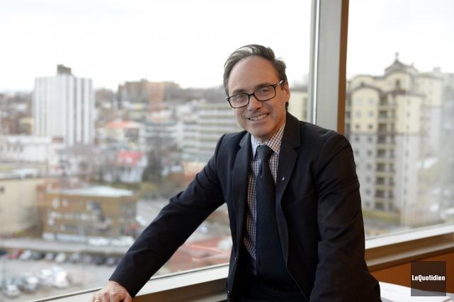 Éric Dufour est le nouveau président du comité... (Archives Le Quotidien, Jeannot Lévesque)