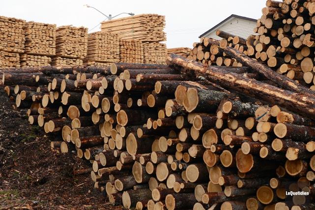 En 2016, l'industrie forestière et le secteur de l'aluminium ont connu des... (Archives Le Quotidien, Jeannot Lévesque)