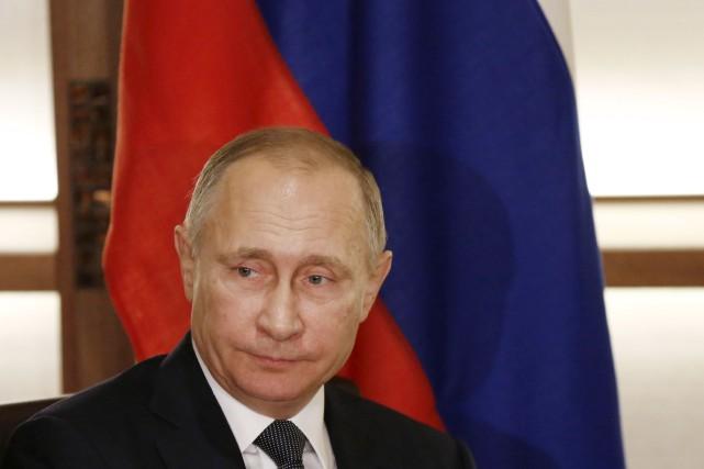 Vladimir Poutine... (Photo archives AP)