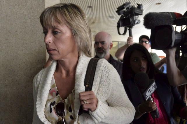 Renata Ford arrive à l'hôpital Mount Sinaï, à... (La Presse canadienne, Nathan Denette)