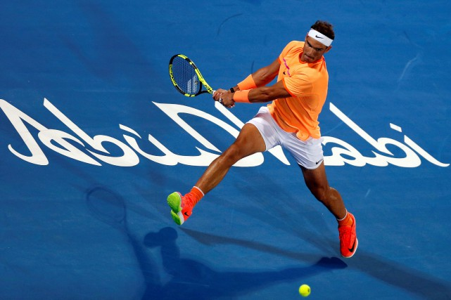 Rafael Nadal... (PHOTO Ahmed Jadallah, REUTERS)