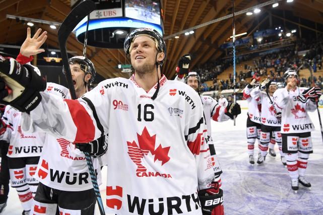 En demi-finales, le Canada tentera de prendre sa... (PHOTO Gian Ehrenzeller, AP)