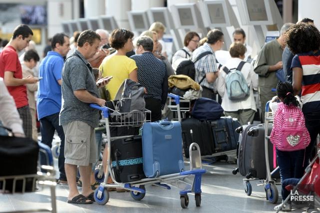 Alors que les voyageurs s'étaient plaints cet été... (PHOTO BERNARD BRAULT, ARCHIVES LA PRESSE)