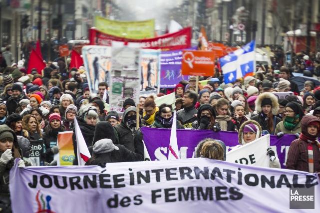 ÉDITORIAL / Le problème de la violence faite aux femmes a toujours été présent... (Archives, La Presse)