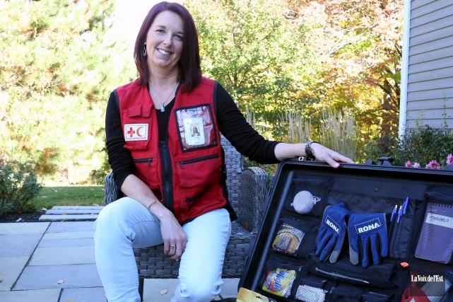 Chef d'équipe adjointe pour la Croix-Rouge, Tamara Bournival... (Archives La Voix de l'Est)