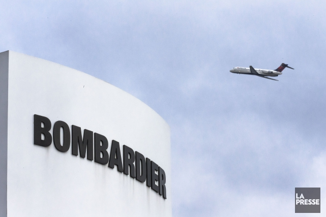 Bombardier prévoit une forte croissance de ses profits... (Archives, La Presse)