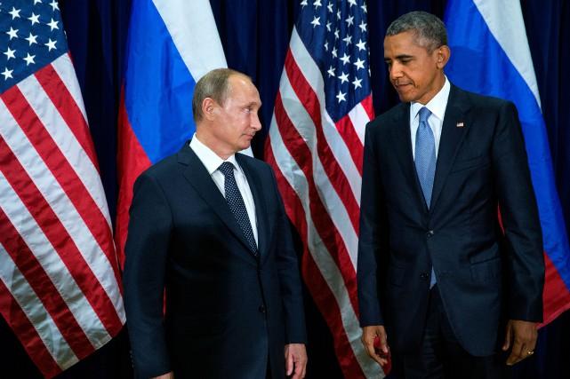 Le président américain Barack Obama et son homologue... (Photo Doug Mills, archives New York Times)