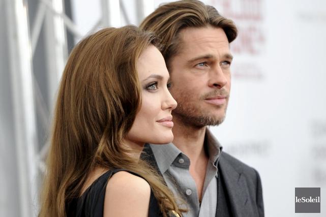 Angelina Jolie et Brad Pitt... (Photothèque Le Soleil)