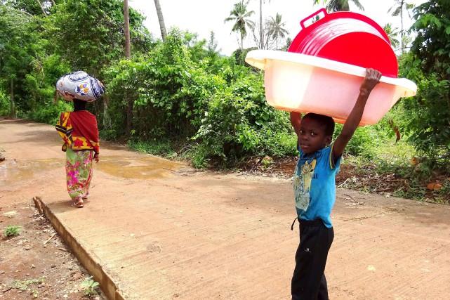 A Mayotte, île de l'océan Indien dans l'attente... (AFP, Ornella Lamberti)