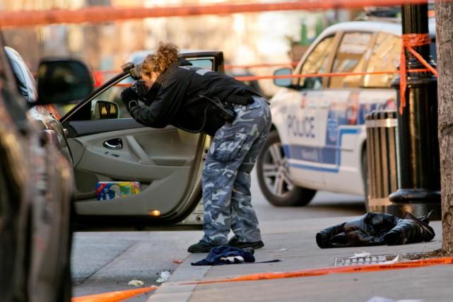 Au 23 décembre dernier, 23 homicides avaient été... (PHOTO DAVID BOILY, ARCHIVES LA PRESSE)