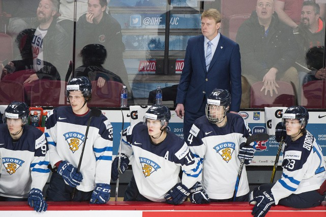 La formation finlandaise n'a inscrit que quatre buts... (PHOTO Graham Hughes, PC)