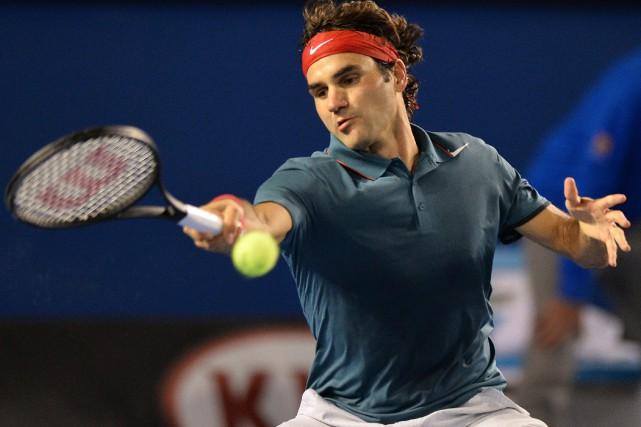 Roger Federer... (PHOTO Saeed KHAN, archives AFP)