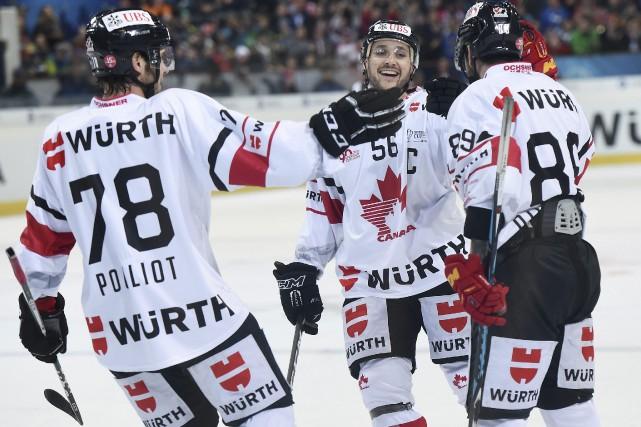 Le Canada affrontera en finale le vainqueur du... (PHOTO Melanie Duchene, AP)