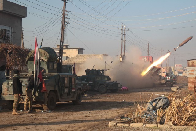 C'est en Irak que l'on a dénombré en... (AFP, Ahmad Al-Rubaye)