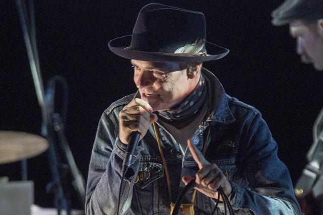 Gord Downie, en spectacle à Halifax, le 29... (La Presse canadienne, Andrew Vaughan)