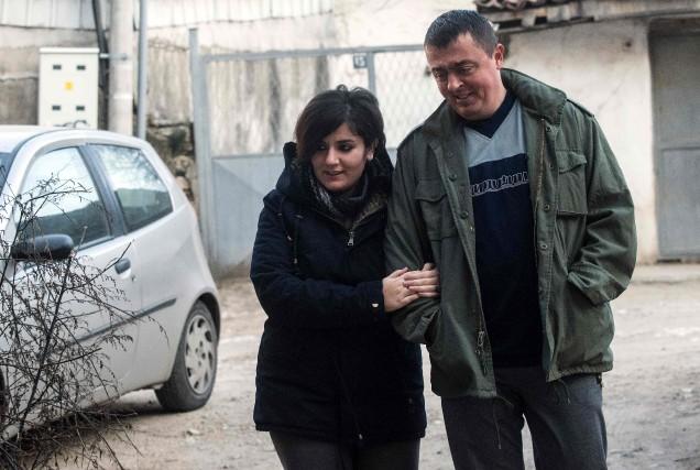 L'histoire de Noora Arkavazi et de son mari... (AFP, Robert Atanasovski)