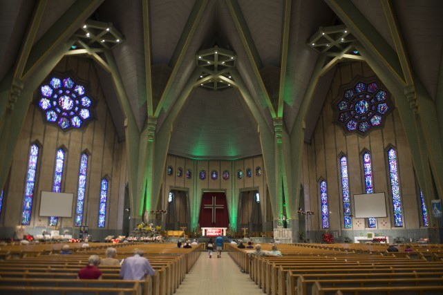 La basilique du Sanctuaire Notre-Dame-du-Cap.... (Archives Le Nouvelliste)