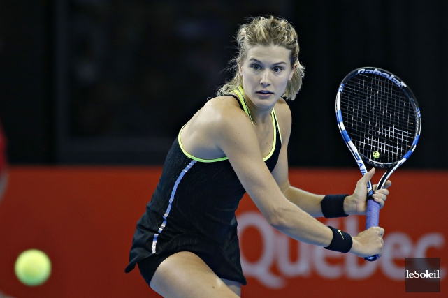 Eugenie Bouchard... (Photo Pascal Ratthé, archives Le Soleil)
