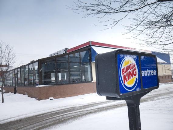Le restaurant Burger King de la rue King... (Spectre Média, René Marquis)