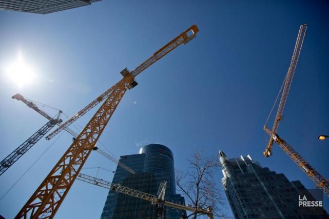 Depuis 2013, la construction est entrée dans un... (Photo David Boily, Archives La Presse)