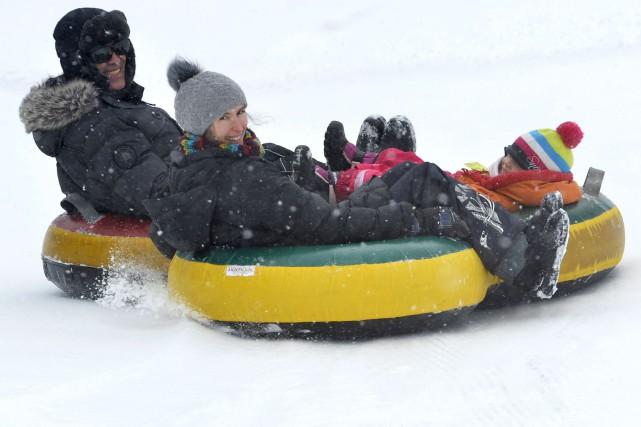 La quinzaine de centimètres de neige tombés a... (Spectre Média, René Marquis)