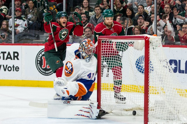 Jaroslav Halak... (PHOTO Brace Hemmelgarn, USA Today Sports)