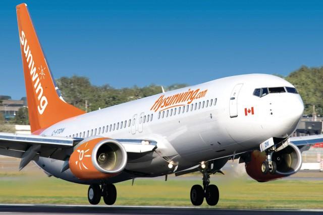 Le Syndicat canadien de la fonction publique avance... (Sunwing Airlines)