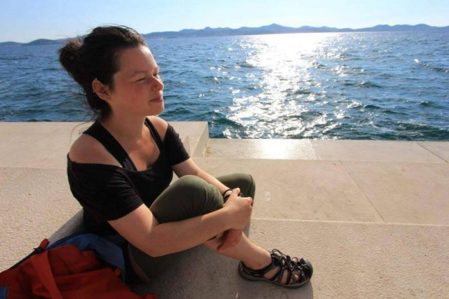 Marie-Hélène Fortier, 27 ans, était à mi-chemin d'un... (Photo tirée de Facebook)