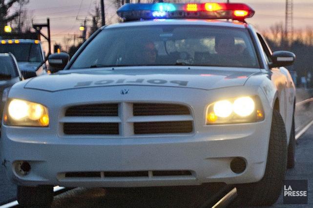 Un homme a été poignardé tôt lundi matin au centre-ville de Montréal. (Photothèque La Presse)