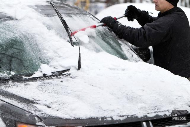 Si Montréal sera relativement épargnée, avec 5 centimètres... (Phot Robert Skinner, archives la Presse)