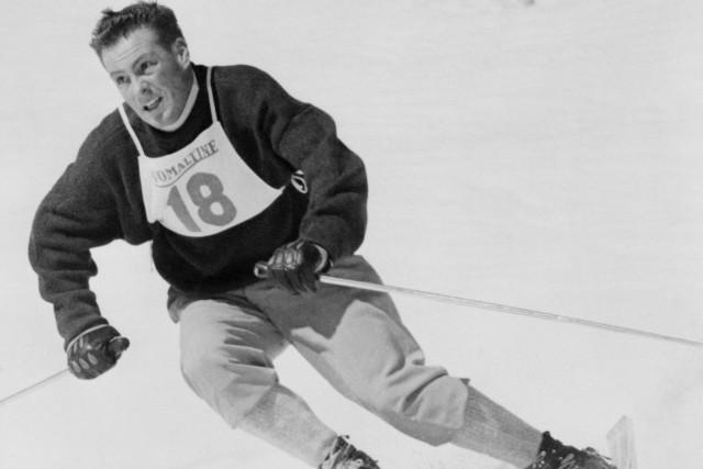 Outre l'or olympique, Jean Vuarnet a remporté un... (AFP)