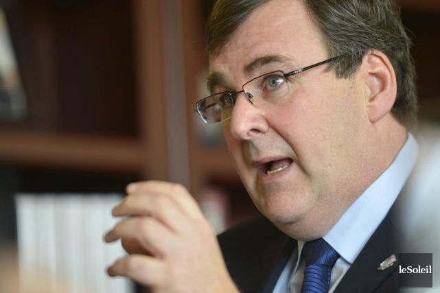 Le ministre responsable de la Capitale-Nationale au sein... (Photothèque Le Soleil)