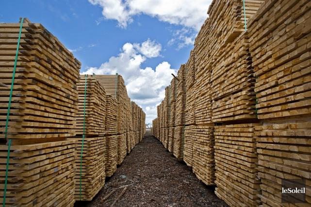 Selon la commission du commerce, le bois d'oeuvre... (Photothèque Le Soleil)