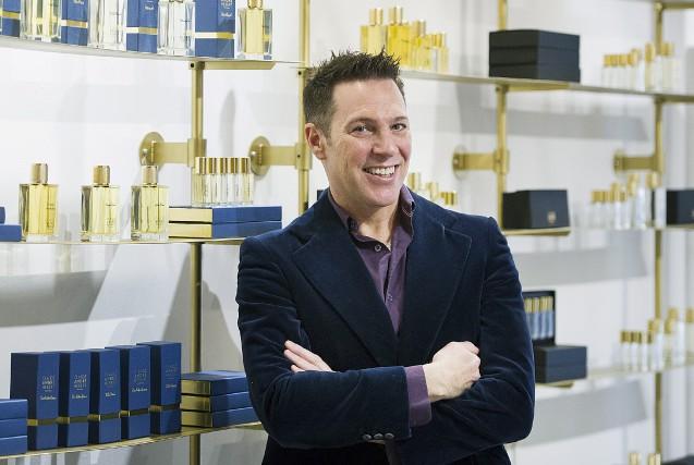 Le créateur de parfum Claude-André Hébert lance cinq... (La Presse canadienne, Graham Hughes)