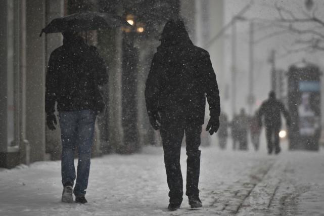 Après la neige mardi, les citoyens auront peut-être... (Photo: François Gervais)