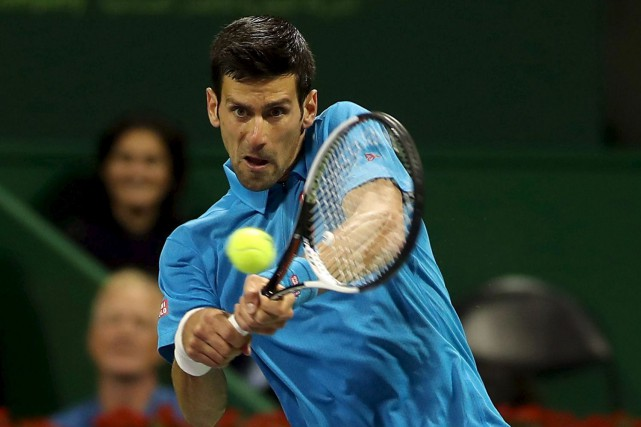 Djokovic fera face au deuxième tour à Horacio... (Agence France-Presse)