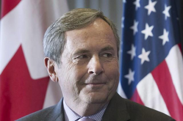L'ambassadeur du Canada aux États-Unis, David MacNaughton, veut... (La Presse canadienne, Graham Hughes)