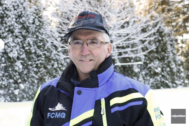 Le président du Club de motoneigistes du Saguenay,... (Photo Le Quotidien, Yohann Gasse)