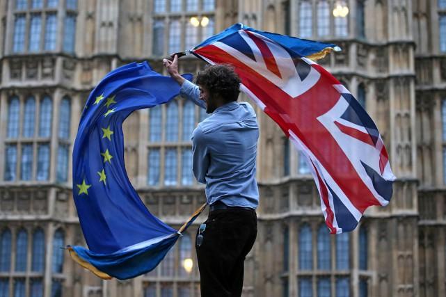 Leréférendum sur l'appartenance du Royaume-Uni à l'Union européennea... (JUSTIN TALLIS, ARCHIVES AFP)