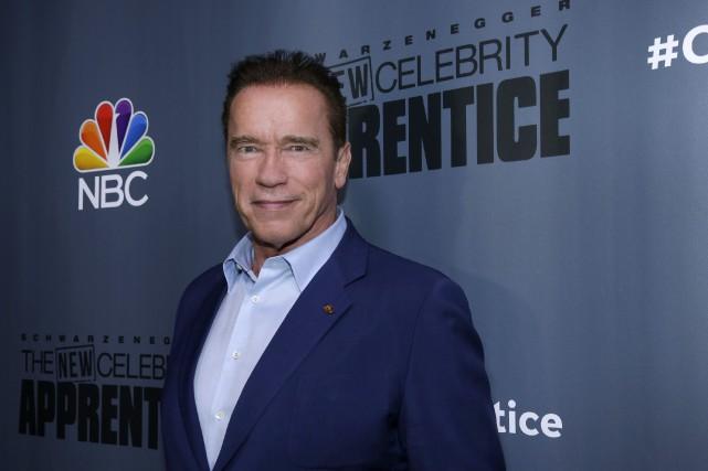 Arnold Schwarzeneggerest désormais le «patron» de l'émission qui... (AP)