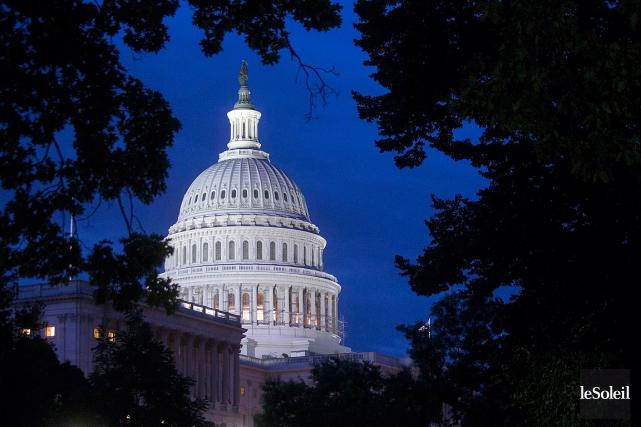Les membres du Congrès des États-Unissiègent auCapitole, àWashington.... (Photothèque Le Soleil)