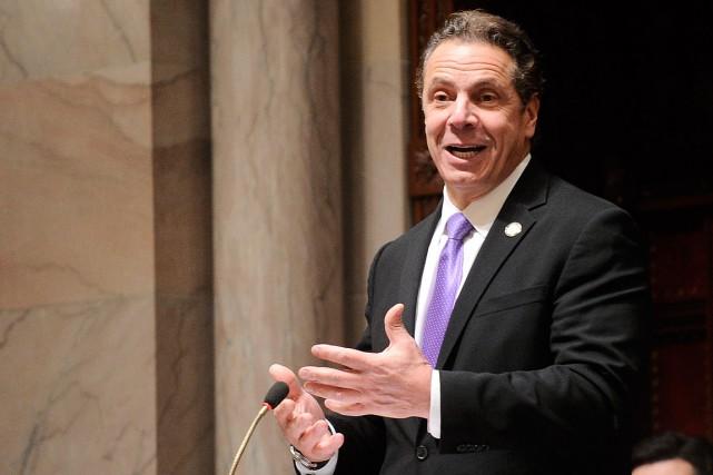 Le gouverneur démocrate de l'État de New York,Andrew... (Hans Pennink, AP)