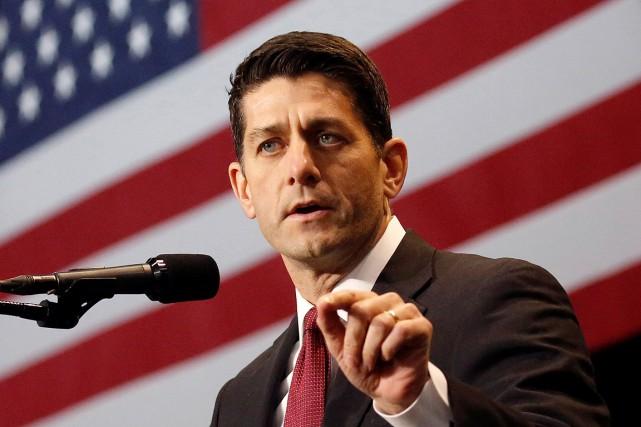 Paul Ryan, photographié le 13 décembre 2016.... (Shannon Stapleton, archives REUTERS)