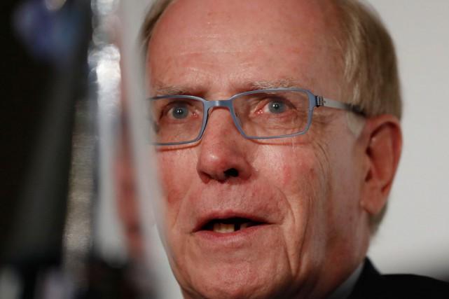 L'enquêteur de l'Agence mondiale antidopage Richard McLaren.... (Associated Press)