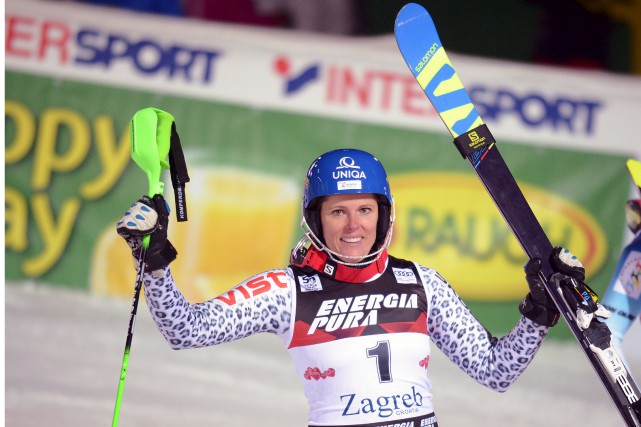 La Slovaque Veronika Velez Zuzulovaa été en mesure... (Agence France-Presse)