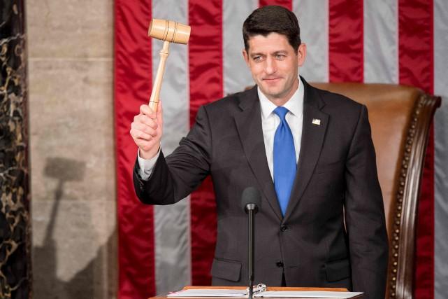 Paul Ryan a été réélu facilement mardi comme... (AFP, Jim Watson)