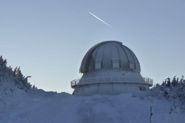 Les discussions entre l'Observatoire du Mont-Mégantic (OMM) et... (La Tribune, Isabelle Pion)